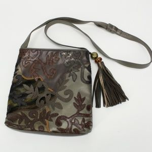 Vintage Sharif Detailed Patch Leather Purse